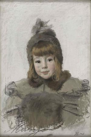 Portrait of a little girl, c. 1898