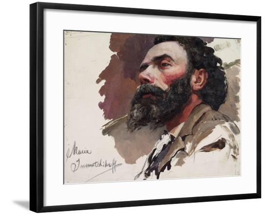 Portrait of a Man-Maria Iakunchikova-Framed Giclee Print