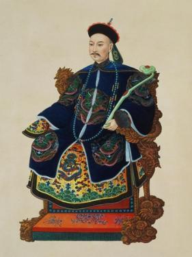 Portrait of a Mandarin