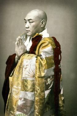 Portrait of a Shinto Priest, C.1880