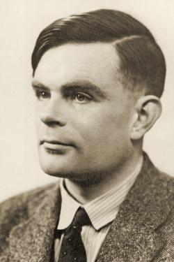 Portrait of Alan Mathison Turing, 1951