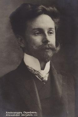 Portrait of Alexander Skrjabin
