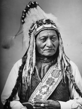 Portrait of an Indian Chief