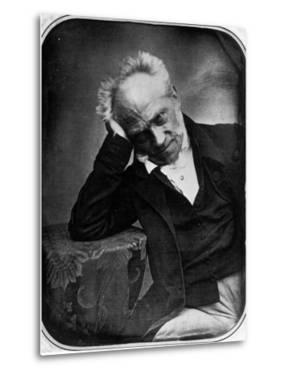 Portrait of Arthur Schopenhauer, German Philosopher