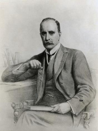 Portrait of Brilliant Physician and Medical Educator William Osler