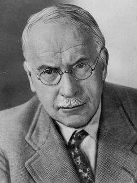 Portrait of Carl Gustav Jung