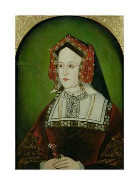 Portrait of Catherine of Aragon (1485-1536)