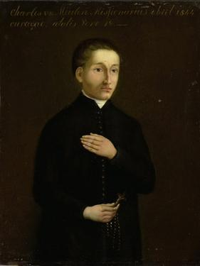 Portrait of Charles Van Der Meulen, Missionary to Curacao