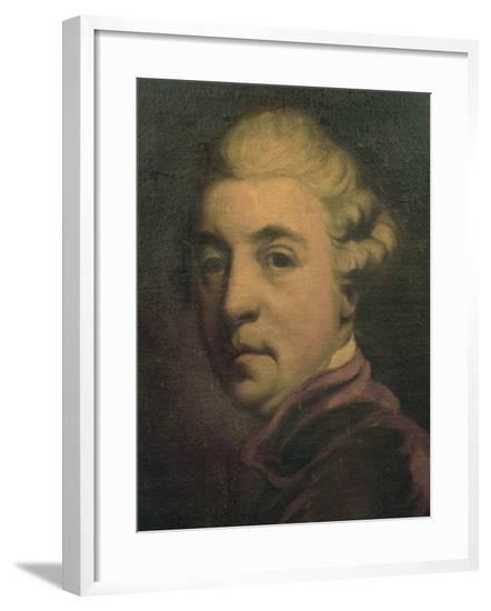 Portrait of Christoph Willibald Gluck--Framed Giclee Print