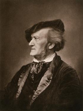 Portrait of Composer Richard Wagner