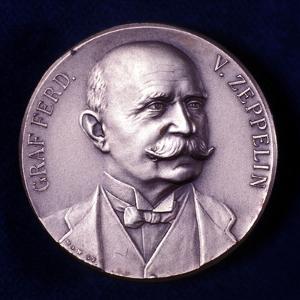 Portrait of Count Ferdinand Von Zeppelin