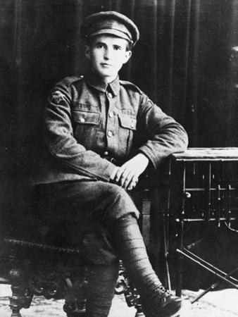 Portrait of David Ben-Gurion