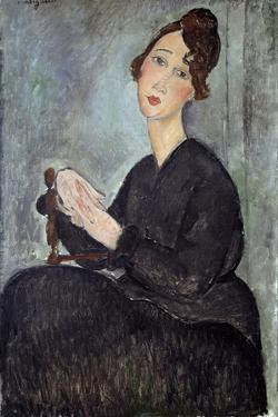 Portrait of Dedie (Odette Hayden) by Amedeo Modigliani