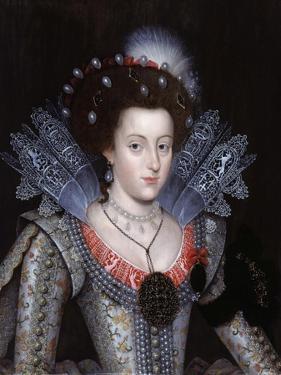 Portrait of Elizabeth Stuart, Queen of Bohemia