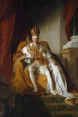 Portrait of Emperor Francis II of Austria by Friedrich Amerling