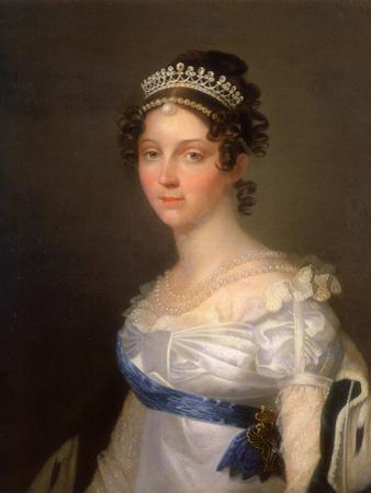 Portrait of Empress Elizabeth Alexeievna, Princess Louise of Baden (1779-182), after 1806