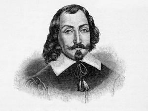 Portrait of Explorer Samuel De Champlain
