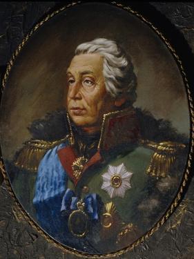 Portrait of Field Marshal Prince Mikhail Kutuzov (1745-181)