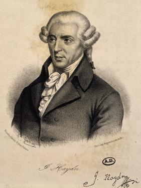 Portrait of Franz Joseph Haydn