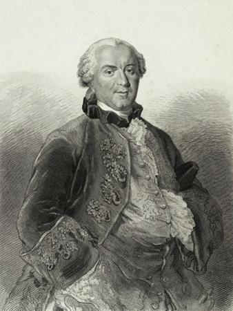 Portrait of George-Louis Leclerc De Buffon