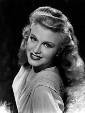Portrait of Ginger Rogers, c.1945