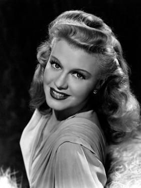 Portrait of Ginger Rogers, c.1945