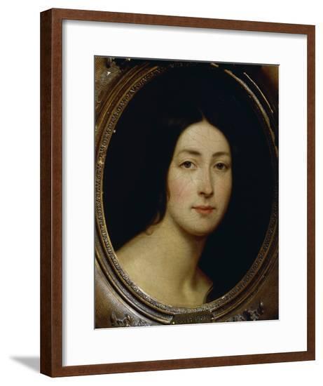 Portrait of Giulia Grisi--Framed Giclee Print