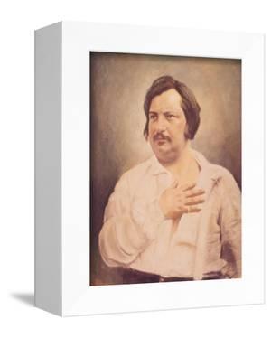 Portrait of Honore De Balzac (1799-1850) after a Daguerreotype