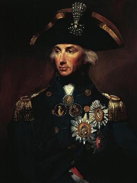 Portrait of Horatio Nelson