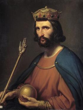 Portrait of Hugues Capet, King of France