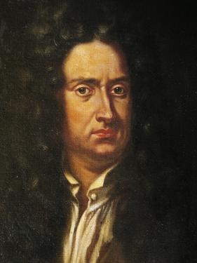 Portrait of Isaac Newton