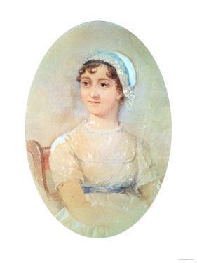 Portrait of Jane Austen (1775-1817)