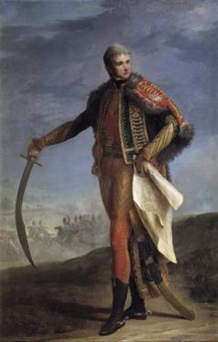 Portrait of Jean Lannes by Jean Charles Nicaise Perrin