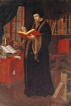 Portrait of John Calvin (1509-64), French Theologian and Reformer