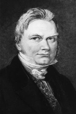 Portrait of Jons Jacob Berzelius