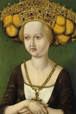 Portrait of Kunigunde of Austria (1465-152), Ca 1485