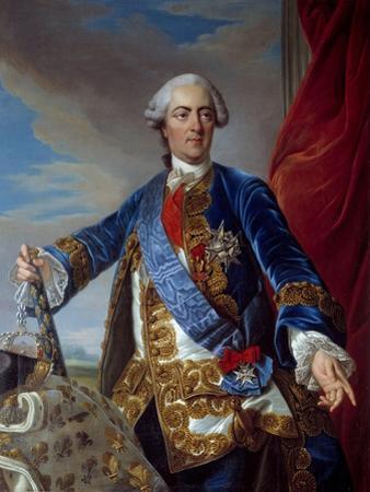Portrait of Louis XV by Louis Michel Van Loo