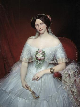 Portrait of Madame Pouchet by Joseph-Desire Court