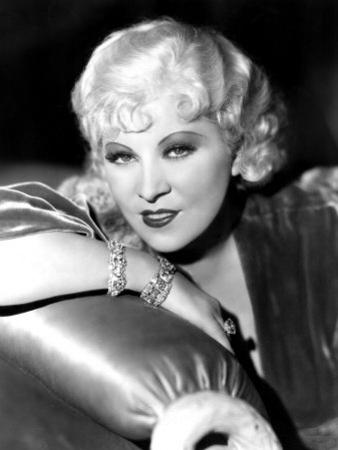 Portrait of Mae West