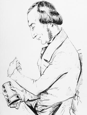 Portrait of Magician Robert Houdin
