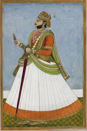 Portrait Of Maharaja Jagat Singh Of Jaipur (R.1803-1818)