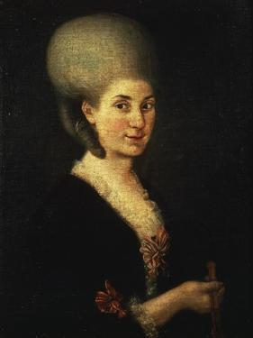 Portrait of Maria Anna Mozart, known as Nannerl