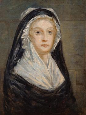 Portrait of Marie Antoinette in Prison