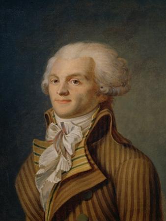 Portrait of Maximilien Robespierre