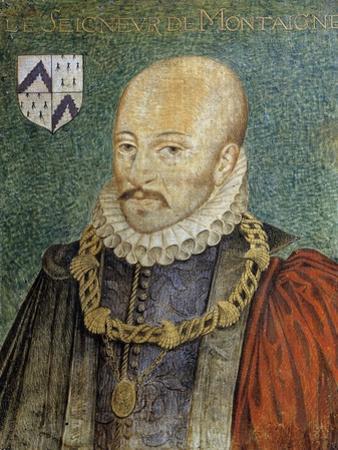 Portrait of Michel De Montaigne