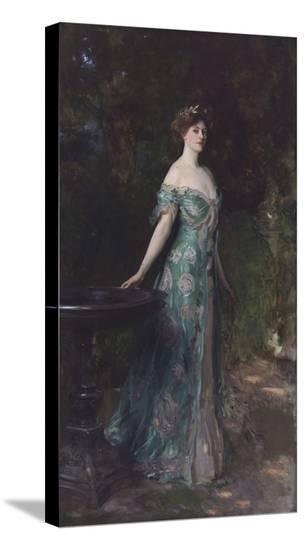 Portrait of Millicent Leveson-Gower (1867-1955), Duchess of Sutherland, 1904-John Singer Sargent-Stretched Canvas Print