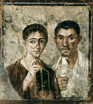 Portrait of Paquius Proculus and His Wife
