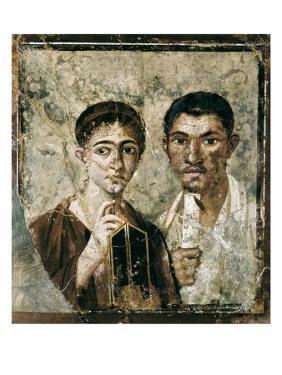 Portrait of Paquius Proculus and His Wife