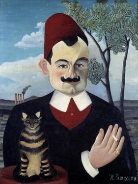 Portrait of Pierre Loti by Le Douanier Rousseau