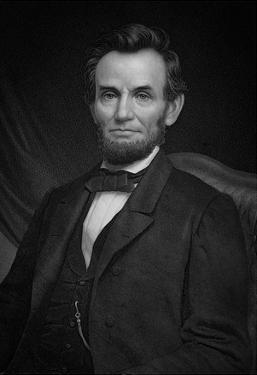 Portrait of President Abraham Lincoln Art Print Poster